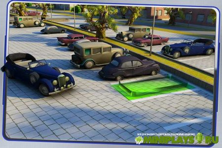 1950s Classic Car Parking 3D