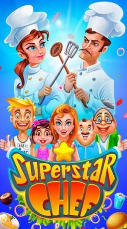 Обзор игры Superstar Chef - Match 3 Games