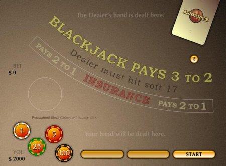 Флеш онлайн Блек Джек