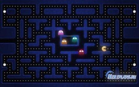 Флеш онлайн-Пакман,Pacman