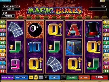 Магические возможности в игровом автомате Magic Boxes