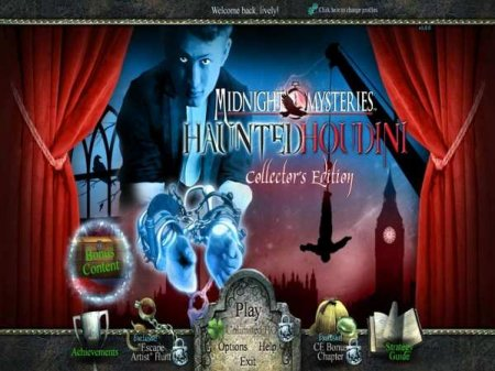Midnight Mysteries 4. Haunted Houdini. Deluxe