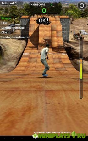 MegaRamp Skate