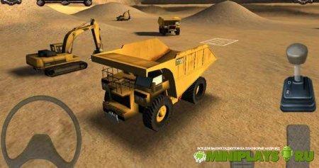 Mining Truck Parking Simulator