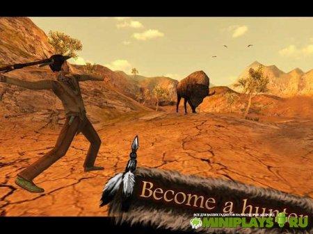 Эволюция. Индейский охотник  Evolution. Indian Hunter