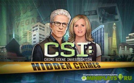 CSI. Hidden Crimes