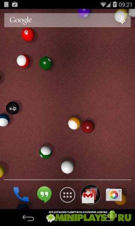Живые обои KF Billiards
