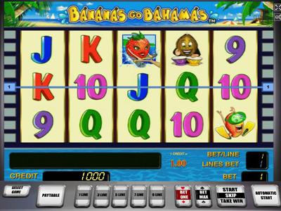 Мобильный игровой автомат Bananas Go Bahamas