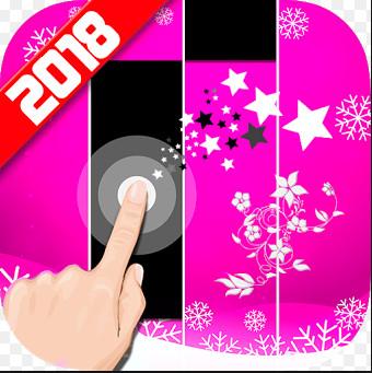 Обзор игры Pink Piano Tiles 2018
