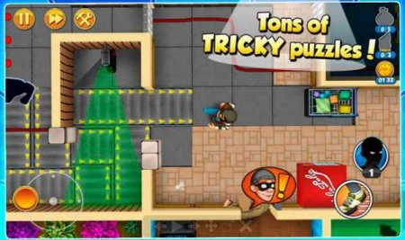 Обзор игры  Robbery Bob 2: Double Trouble на андроид v.1.5