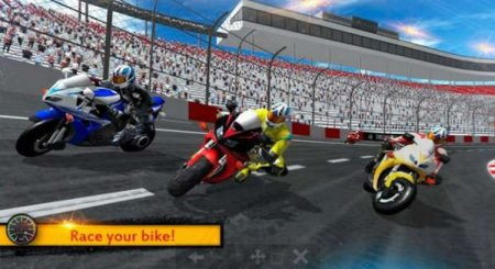 Обзор игры  Bike Racing 2018 - Extreme Bike Race на андроид v.2.1