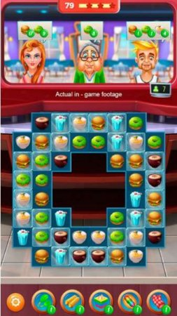 Обзор игры Superstar Chef - Match 3 Games